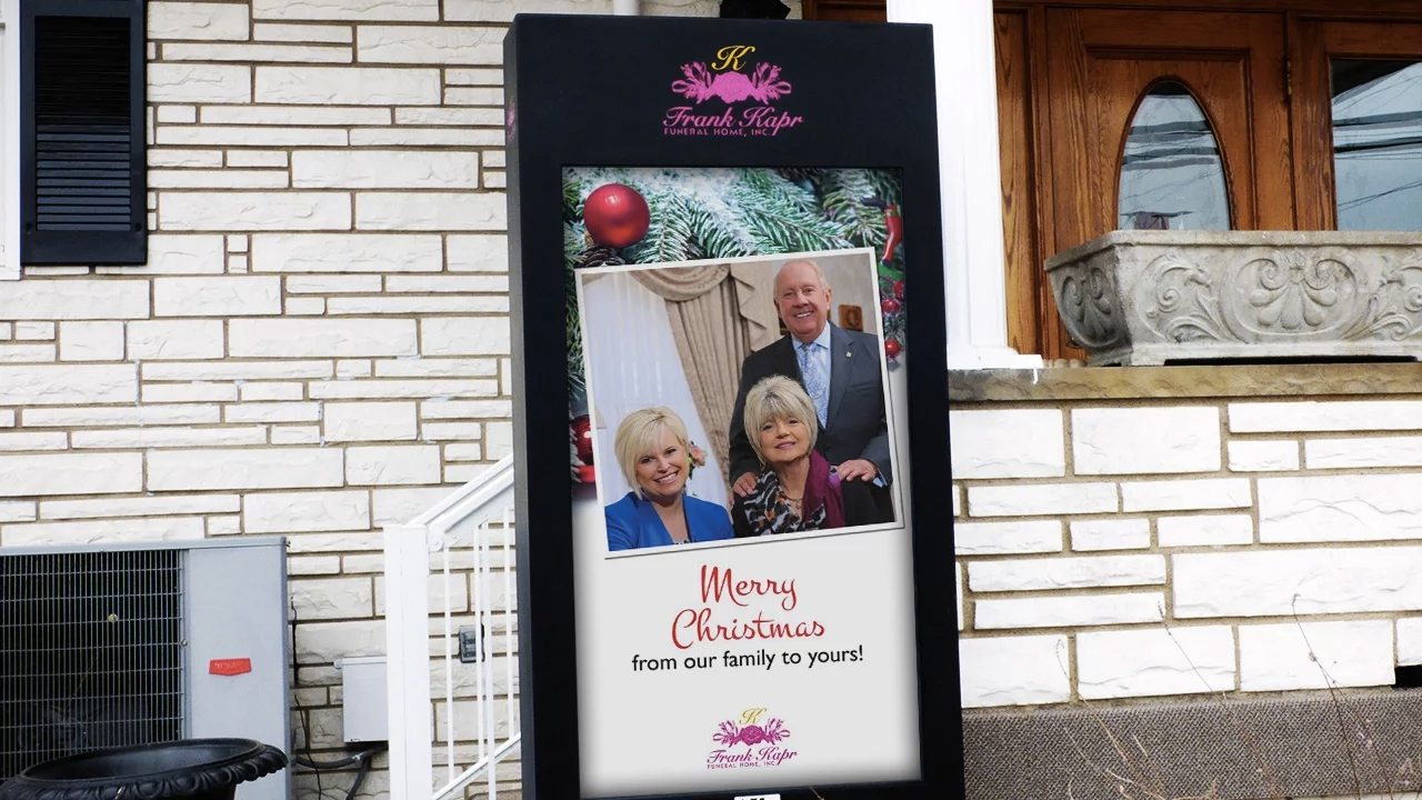 ITSENCLOSURES-Deploys-Digital-Signage-at-Pennsylvania-Funeral-Home