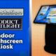 infostation touch screen kiosk