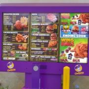 chefette outdoor digital menu boards viewstation itsenclosures