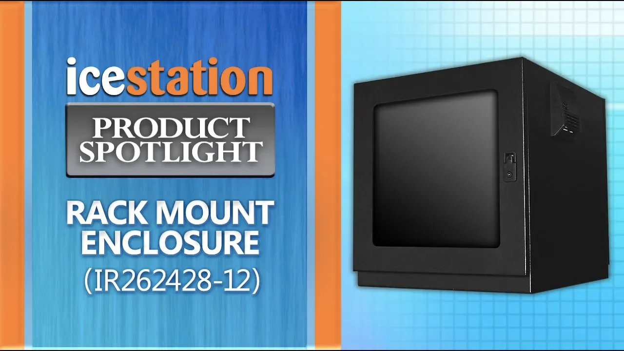 icestation rack mount enclosure itsenclosures ir262428-12
