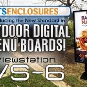 viewstation itsenclosures lcd enclosure digital signage