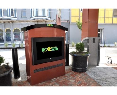 ITSEnclosure LCD Dayton Regional Transit