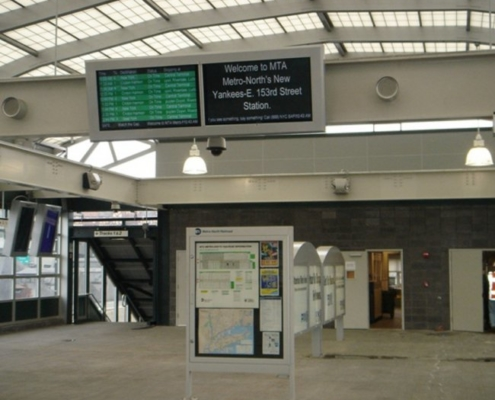 ITSEnclosure LCD Metro North Railroad