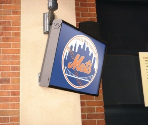 ViewStation Passively Cooled Phillies Vented LCD Enclosure by ITSENCLOSURES NY Mets
