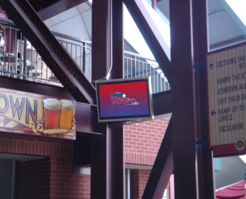 ViewStation Passively Cooled Phillies Vented LCD Enclosure by ITSENCLOSURES