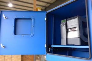 Nema 4 Printer Enclosure Door Open