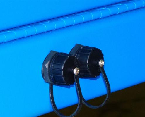 IceStation Dual Monitor Enclosure ITSENCLOSURES usb connectors