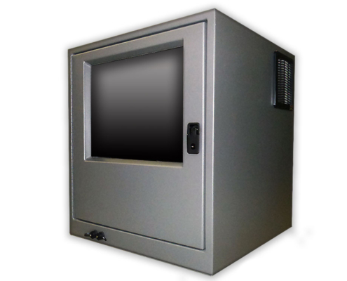 ID282526-12 desktop pc enclosure monitor enclosure icestation itsenclosures