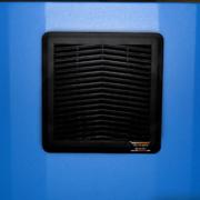 ID322826-12 NEMA-12 Computer Enclosure monitor screen filtered fan system
