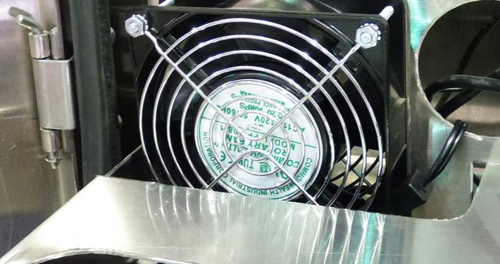 recirculating fan itsenclosures icestation