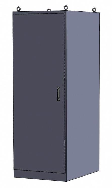 Freestanding Rack Enclosure Cabinet, NEMA 4 or 4X IceStation ITSENCLOSURES
