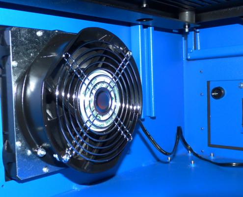 NEMA-12 Enclosure Product Shot Fans