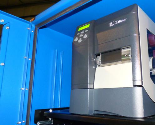NEMA-12 Enclosure Product Shot Printer