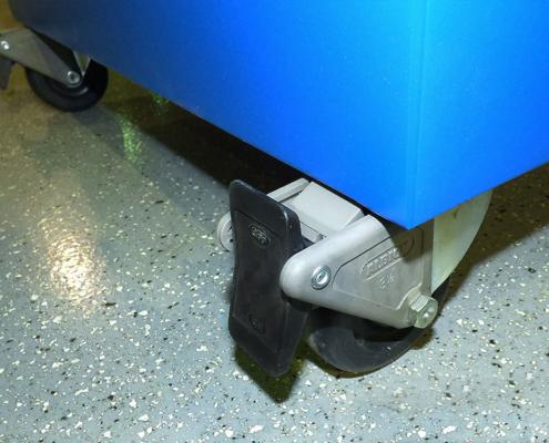 nema 12 rack enclosure icestation lockable or swivel castors