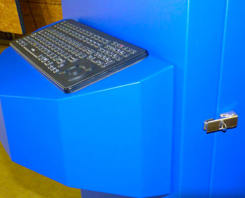 Freestanding Enclosure Keyboard
