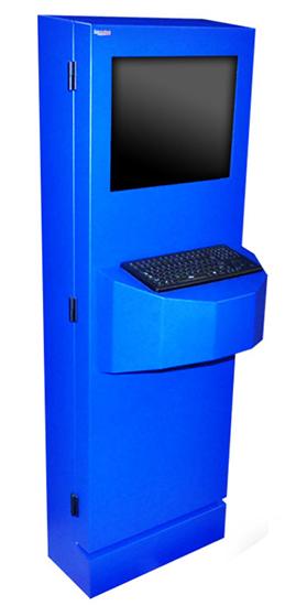 NEMA 4 Freestanding Kiosk Enclosure ITSENCLOSURES