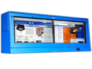 dual monitor desktop pc enclosure IceStation TITAN pc computer enclosure itsenclosures