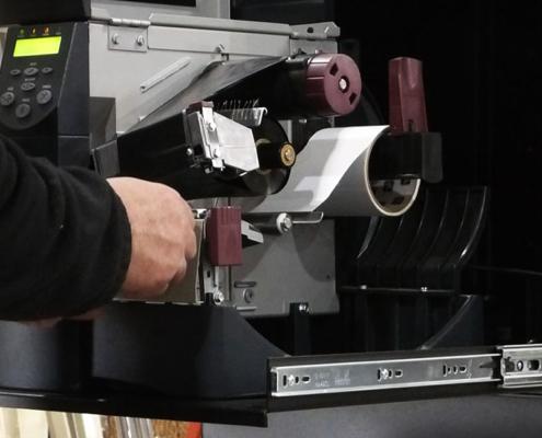 PB262426-12 Printer Box Enclosure lockable sliding shelf icestation itsenclosures