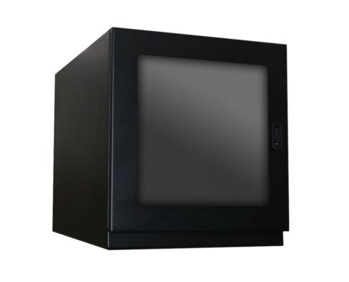 PB262426-12 Printer Box Enclosure lockable front rear doors icestation itsenclosures