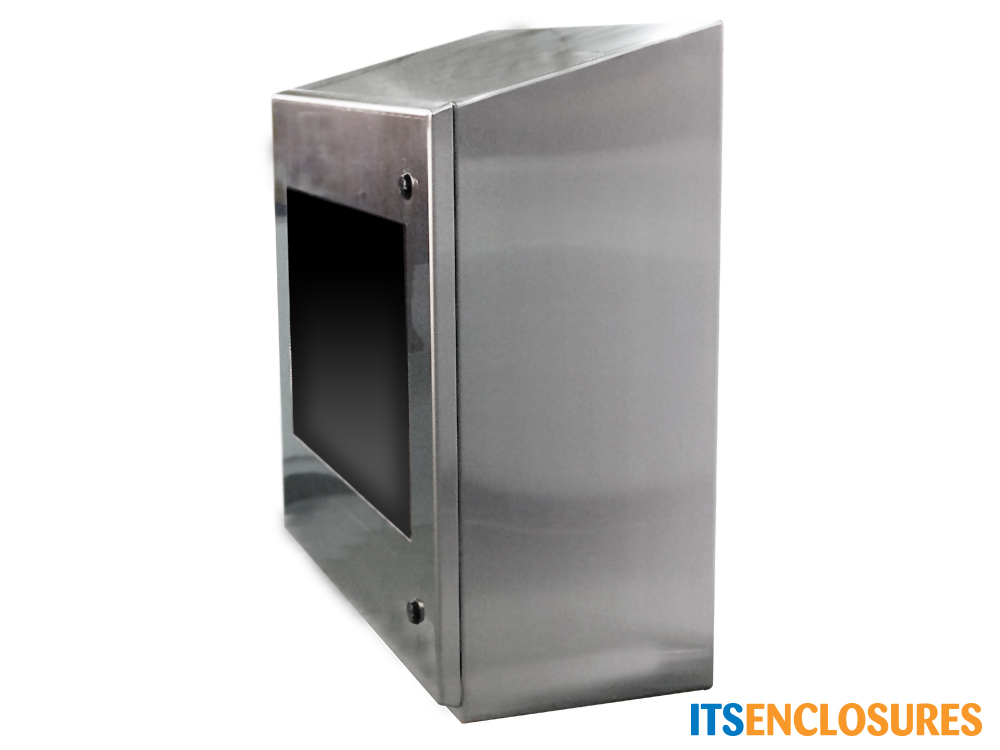 monitor enclosure stainless steel