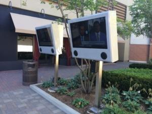 mall partridge creek itsenclosures viewstation lcd enclosure installation