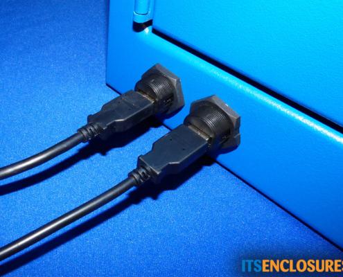 NEMA 12 PC Enclosure IceStation USB Connectors