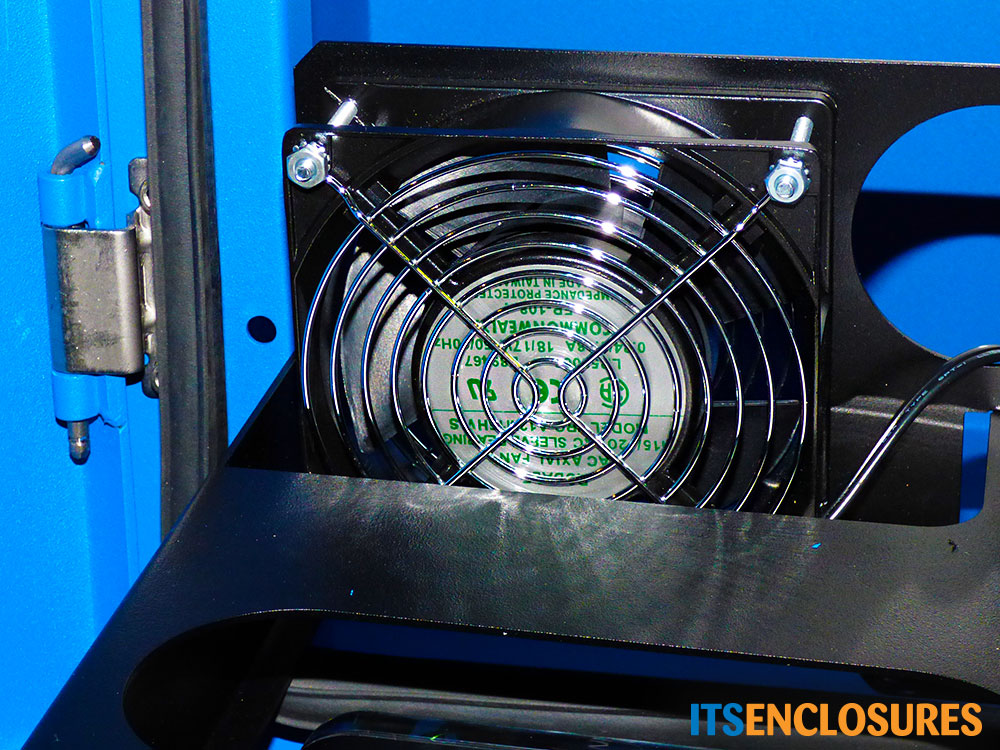NEMA-4 Monitor Enclosure recirculating fan