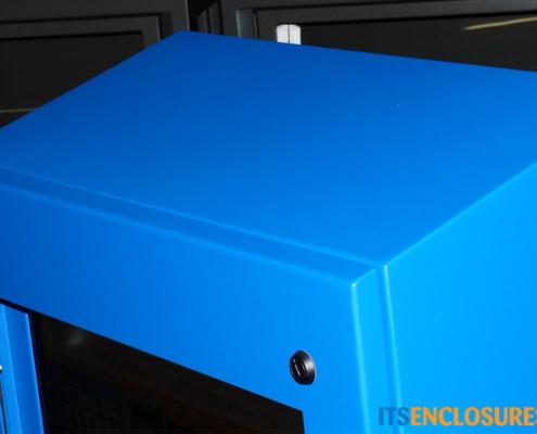 NEMA-4 Monitor Enclosure slanted top