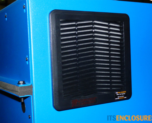 IP122826-12 NEMA-12 PC TOWER Enclosure ITSENCLOSURES product filtered fan system