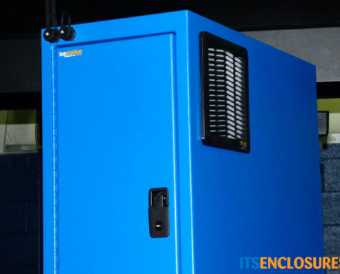 NEMA- 2 PC Tower Enclosure Lockable Front Door USB Connectors