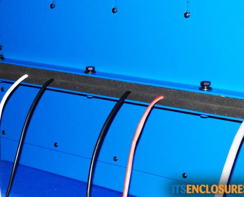 NEMA 12 PC Enclosure IceStation Split Panel for Cables
