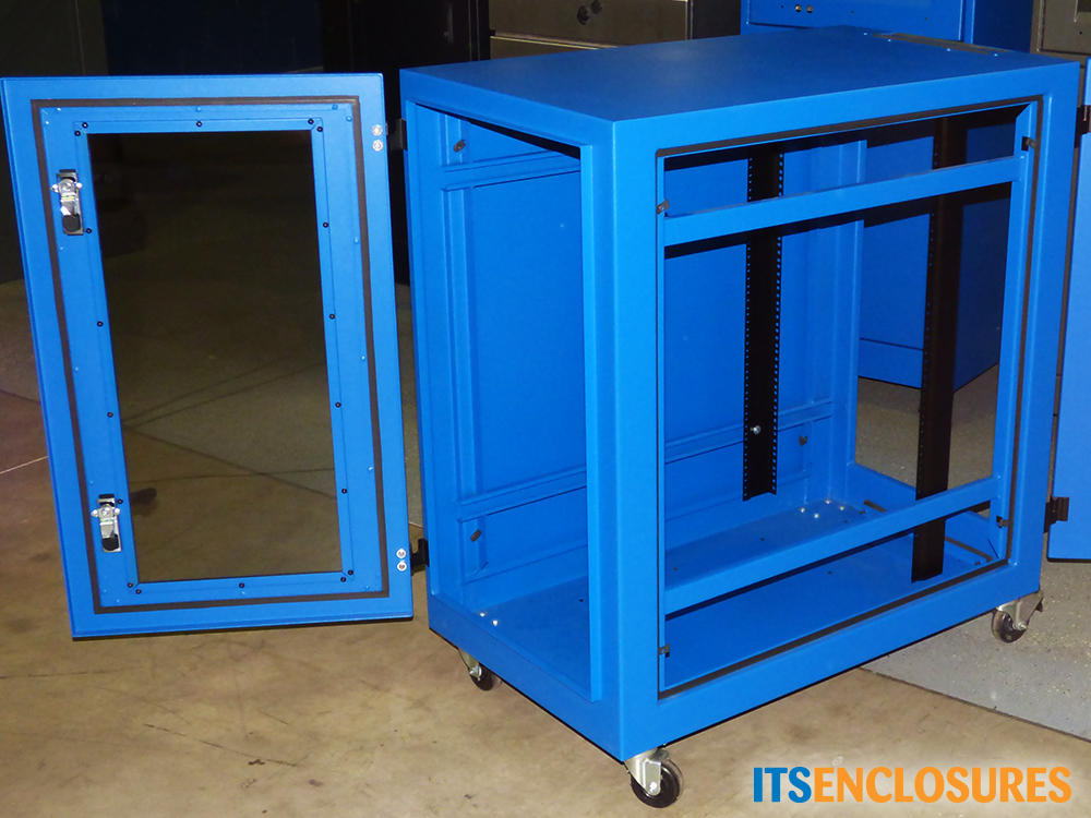 IR40 NEMA 12 rated rack mount enclosure icestation