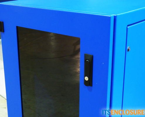 IR40 front door rack mount enclosure icestation itsenclosures