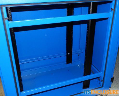 IR40 rack mount enclosure inside icestation itsenclosures