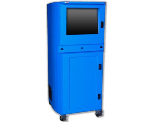 IS602826-12 Computer cabinet pc enclosure nema 12 icestation itsenclosures freestanding computer enclosure