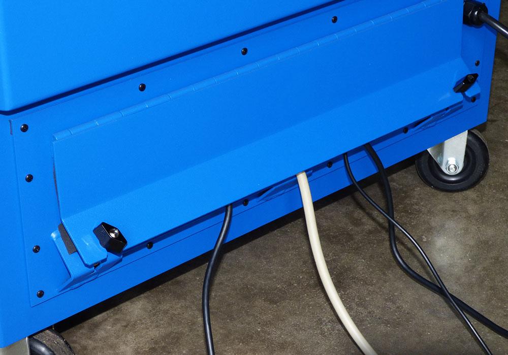 IS602826-12 Computer cabinet pc enclosure nema 12 icestation itsenclosures freestanding computer enclosure rear split panel
