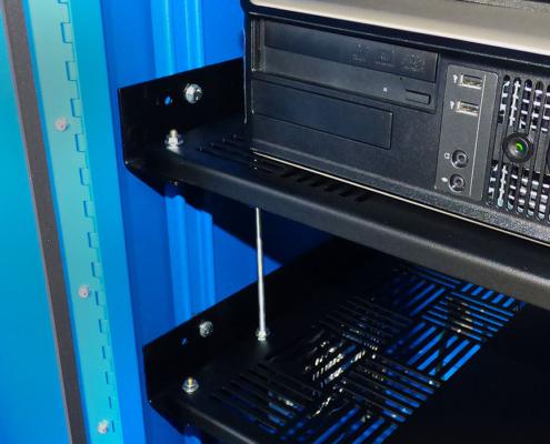 IS602826-12 Computer cabinet pc enclosure nema 12 icestation itsenclosures freestanding computer enclosure shelf