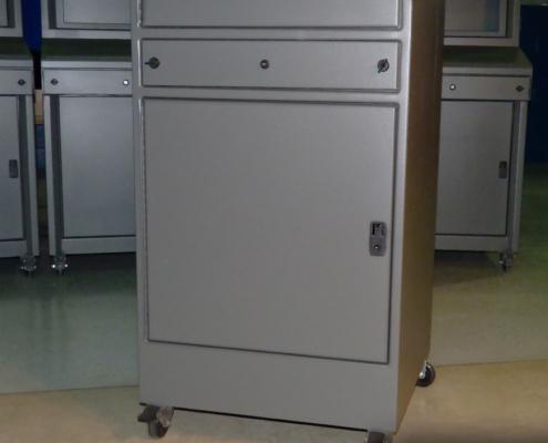 IS662828-12 Computer cabinet pc enclosure nema 12 icestation itsenclosures keyboard drawer bottom cabinet