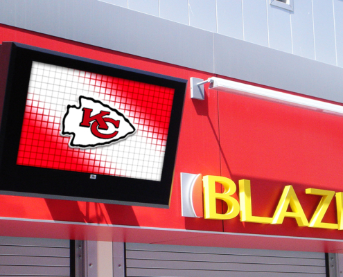 ViewStation Universal Kansas City Chiefs ITSENCLOSURES