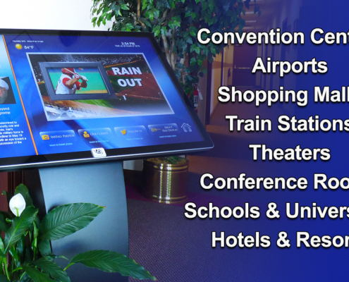 infostation lcd kiosk viewstation itsenclosures touchscreen installations