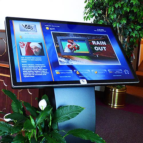 viewstation infostation kiosk itsenclosures