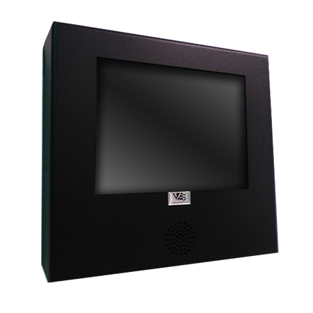 LCD Monitor Enclosure - Vented - ViewStation - ITSENCLOSURES