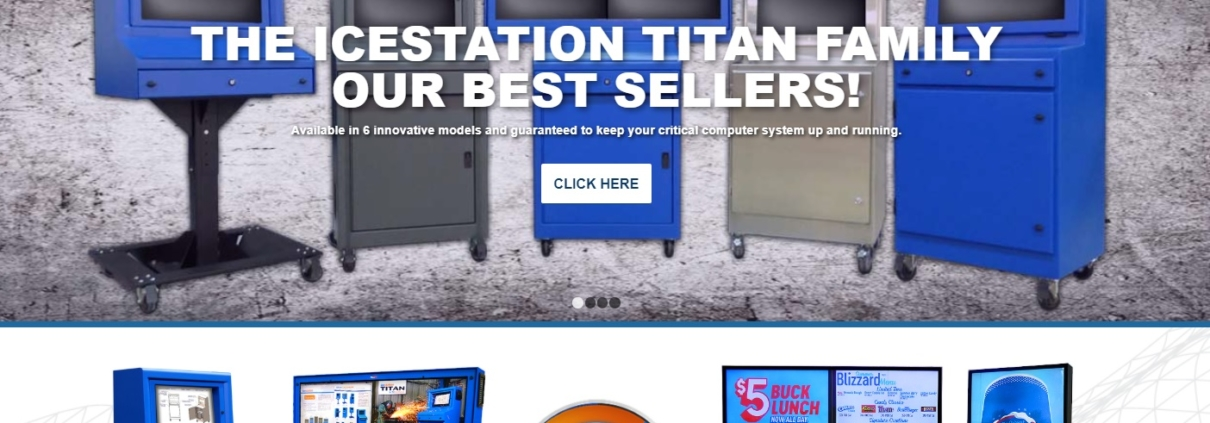 itsenclosures home page icestation viewstation netstation titan