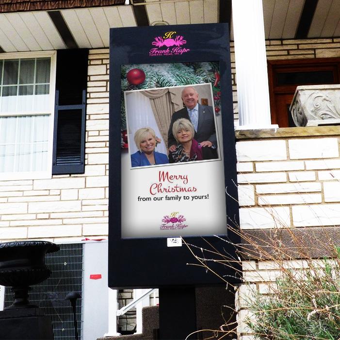 viewstation digital signage frank kapr funeral home itsenclosures