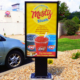 dairy queen 1x1 viewstation lcd digital signage itsenclosures high bright monitor