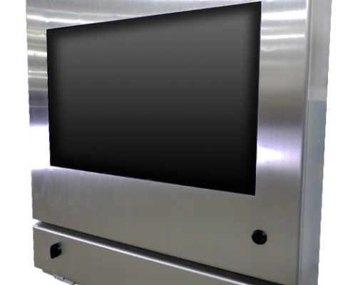 IO35-4X Computer Monitor Enclosure IceStation ITSENCLOSURES