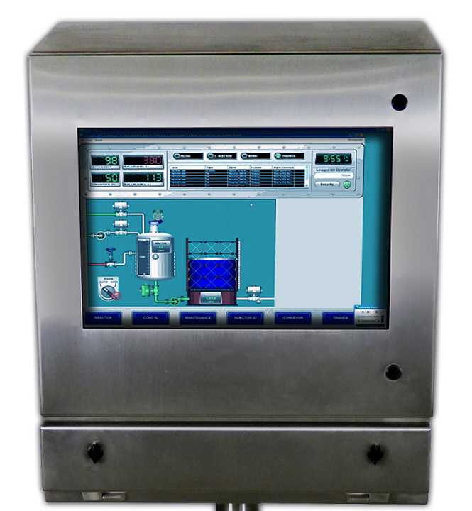 IO35-4X monitor computer enclosure icestation itsenclosures