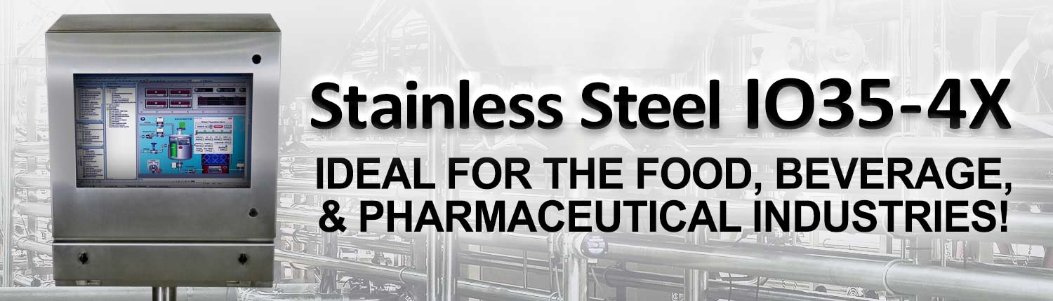 stainless steel I035-4x pharmaceutical enclosure