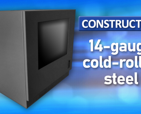 ID28-04 IceStation Rack Enclosure ITSENCLOSURES cold rolled steel