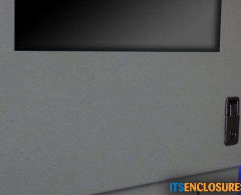 ID28-04 IceStation Rack Enclosure ITSENCLOSURES front door